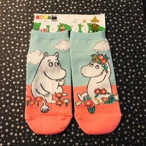 Accessories - Sold!! Moomin socks -Moomin & Snork Maiden
